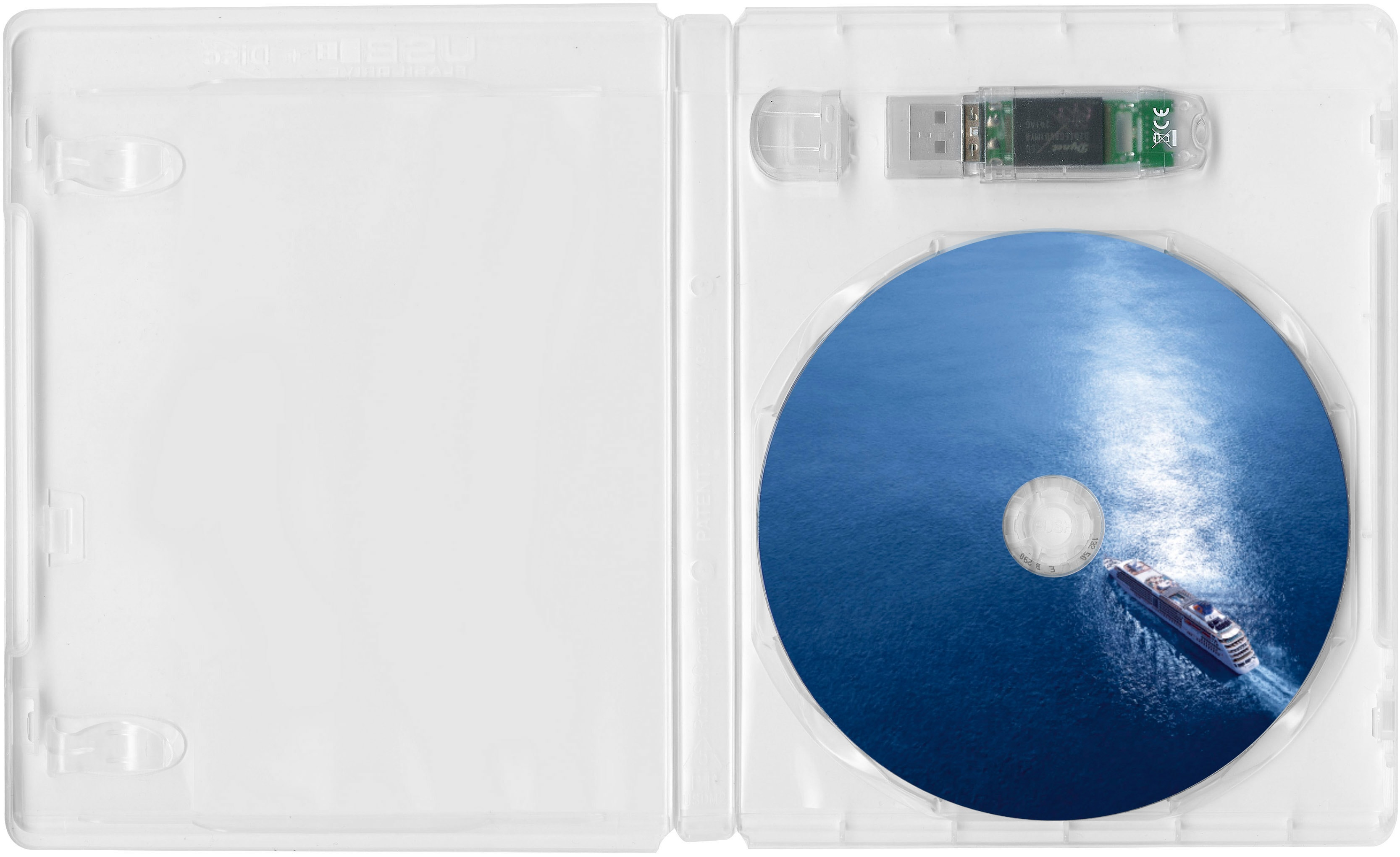 Combibox USB-Stick und Disc