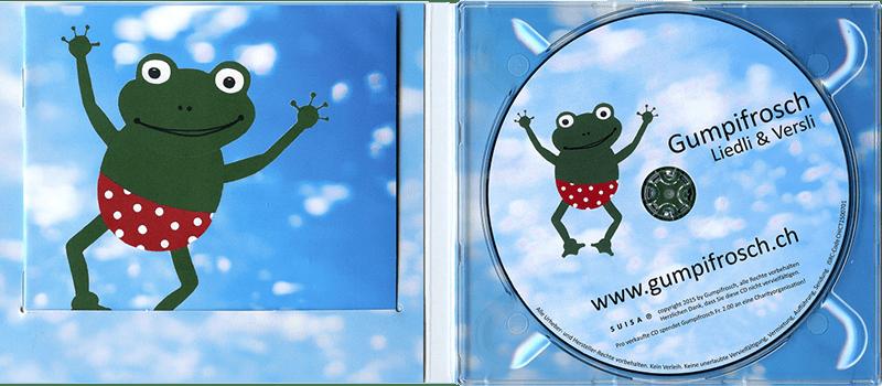 Kartonhülle mit transparentem Tray und Booklet