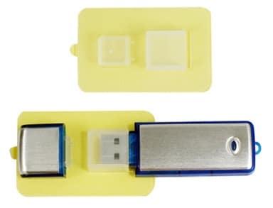 Selbstklebende Haftpads für USB-Sticks