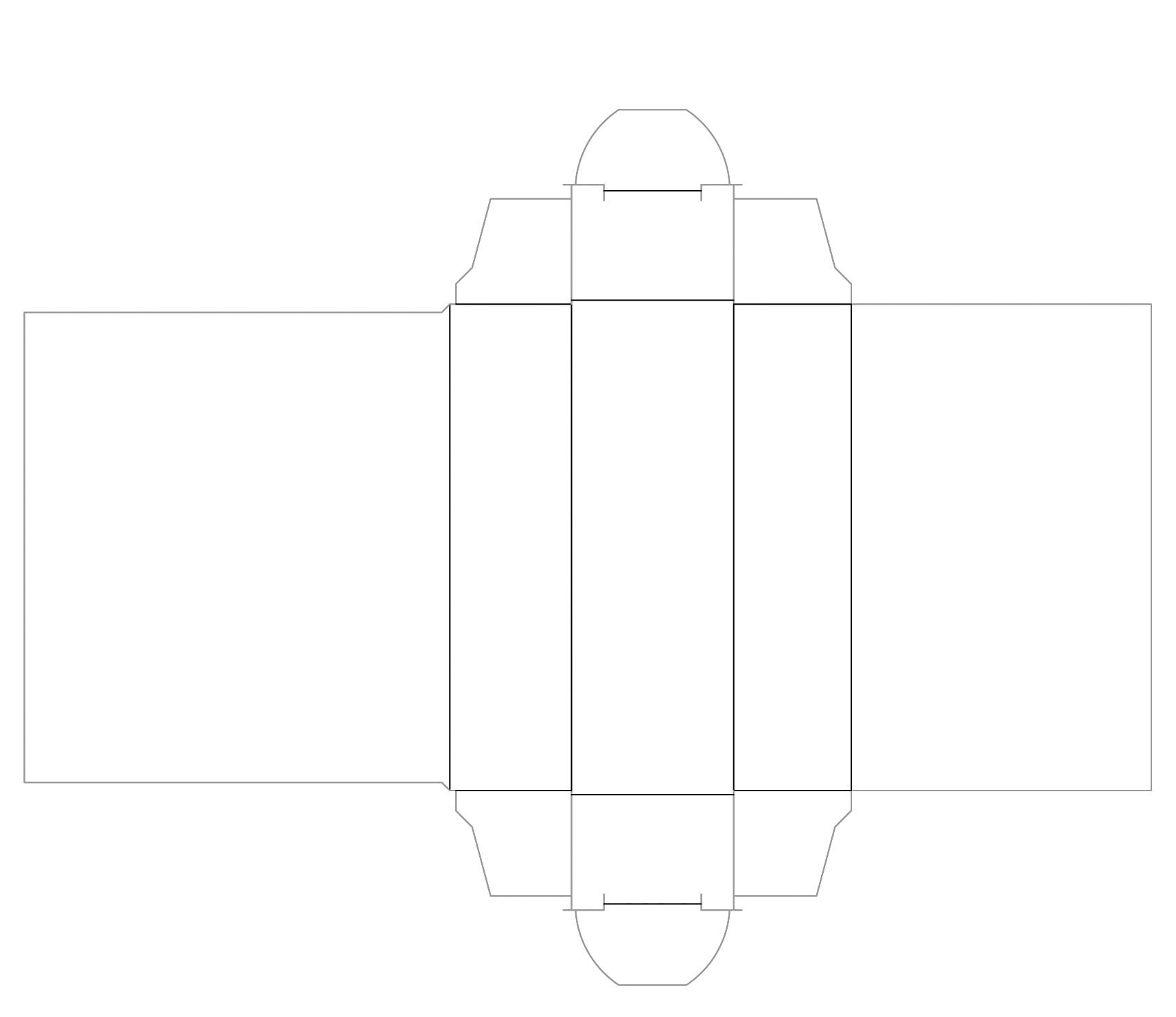 Kartonhülle für USB-Stick, Kartonschächteli für USB-Stick