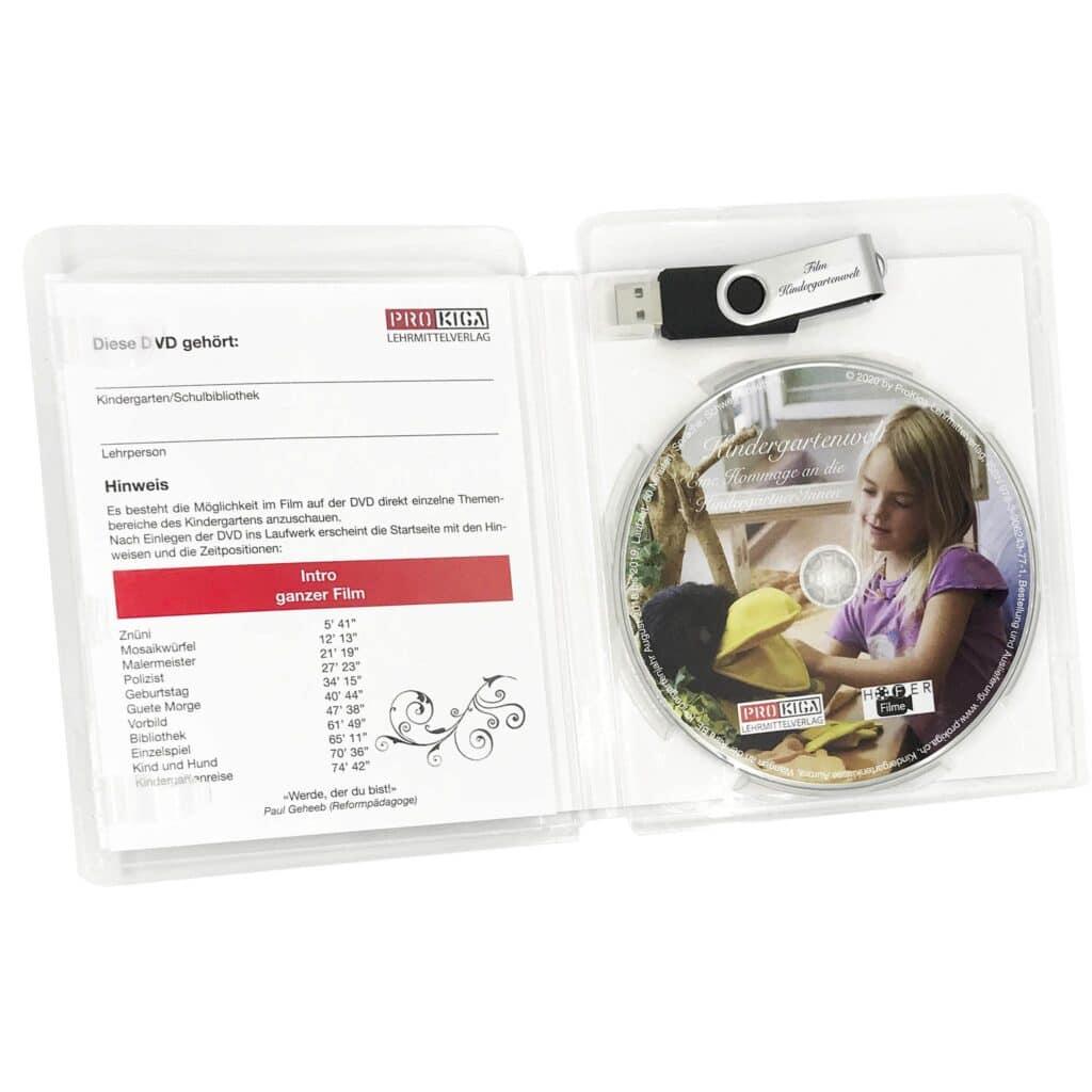 Box für USB-Stick und CD / DVD / Bluray