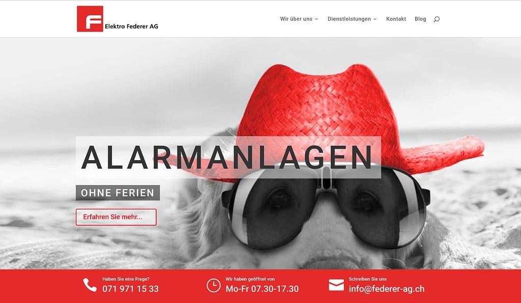 webseiten preise schweiz
