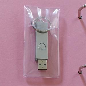 USB Stick an Ordner befestigen