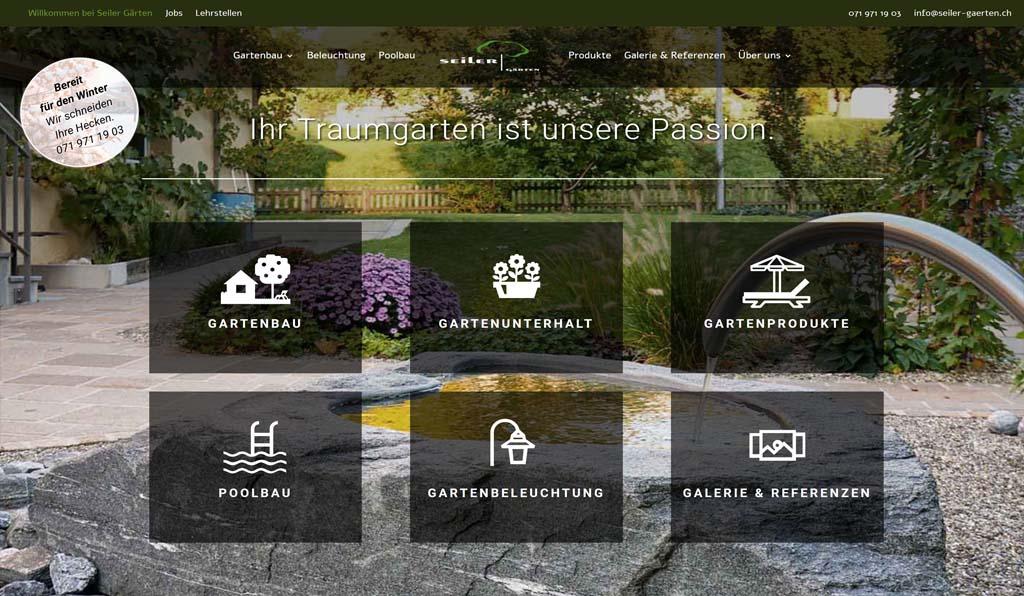 sehr preiswerte Homepage