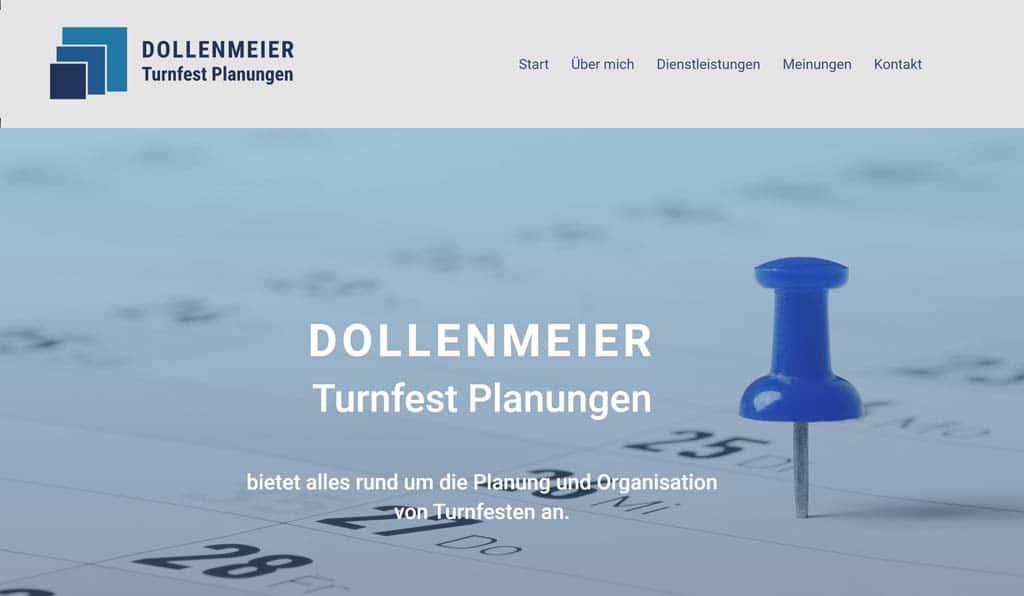Homepage für Einzelfirma