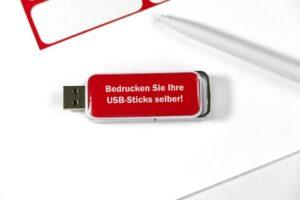 USB Stick bedrucken Kleinauflage