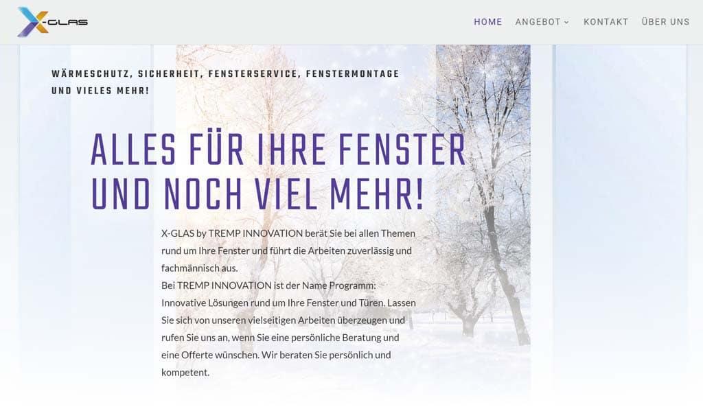 Homepage erstellen lassen Schweiz